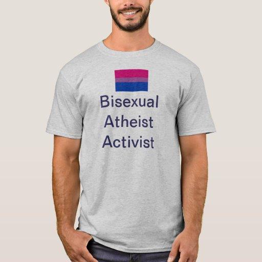 Camiseta atea del activista del BI