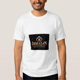Camiseta atlética de la microfibra de JAMAL-IN Poleras