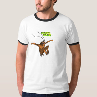 ¡Camiseta atómica de la cucaracha! Playera