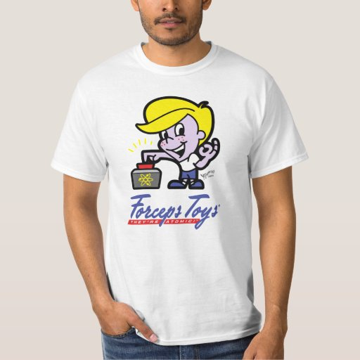 "Camiseta ""atómica"" del fórceps de Tommy Camisas"