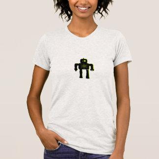 Camiseta atómica del robot