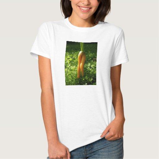 """Camiseta """"atractiva y cruda"""" de las señoras playera"""