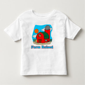 Camiseta aumentada granja