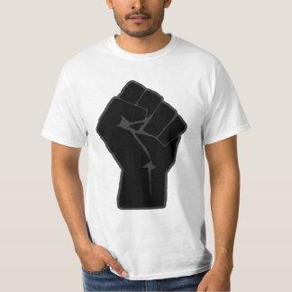 Camiseta aumentada revolucionario del puño camisas