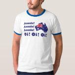 Camiseta australiana australiana australiana de Oi Playeras