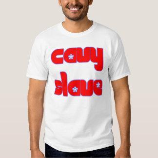 Camiseta auxiliar del Cavy Polera