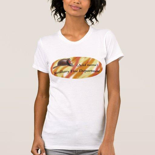 Camiseta auxiliar personalizada del cuerpo de