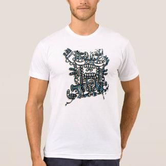 Camiseta azteca del diseño playera