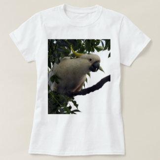 Camiseta Azufre-Con cresta del Cockatoo