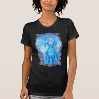 Camiseta azul de la hada del Topaz de Birthstones