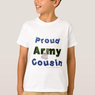 Camiseta azul de los niños del primo orgulloso del