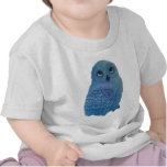 Camiseta azul del búho