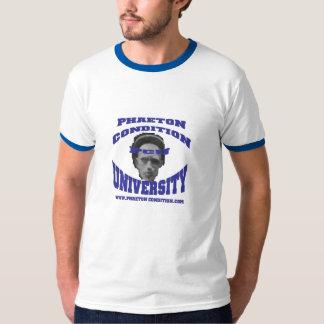 Camiseta azul del campanero del PCU Remera