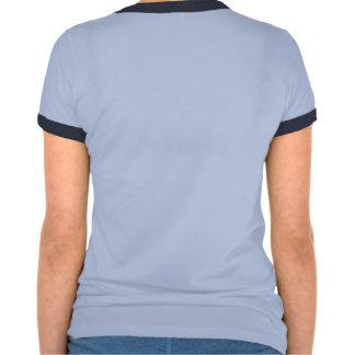 Camiseta azul del campanero MSB de las mujeres Playeras
