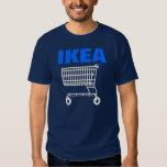 Camiseta azul del carro de la compra de IKEA 360° Playeras