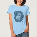 camiseta azul del gatito del ragdoll remera