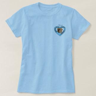 Camiseta azul del logotipo del rescate de Bonnie Remeras