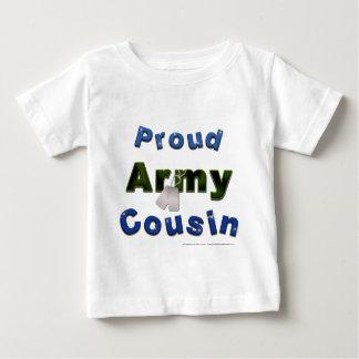 Camiseta azul del niño del primo orgulloso del