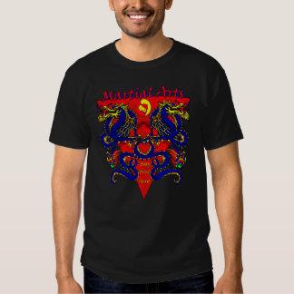 Camiseta azul doble del alcohol de la mente del remeras