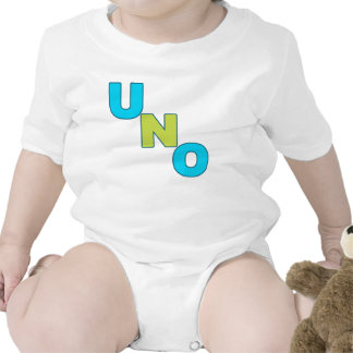 Camiseta azul y verde DE NEÓN del cumpleaños del U