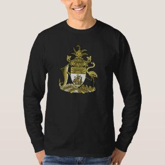 Camiseta bahamesa del escudo de armas
