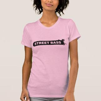 Camiseta baja de los chicas del logotipo de la playera