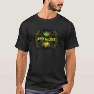 camiseta baja del soundsystem del tambor del