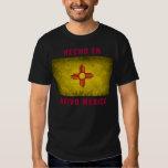 Camiseta - bandera del en Nuevo México de Hecho Playera