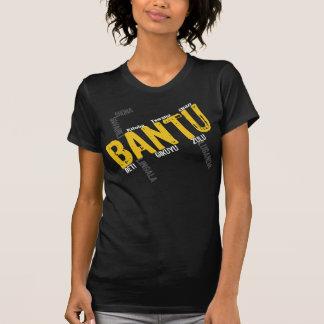 Camiseta Bantú-Negra