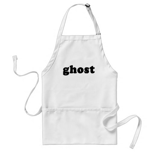 Camiseta barata y genérica del fantasma de Hallowe Delantal