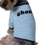 Camiseta barata y genérica del fantasma de Hallowe Camisetas De Mascota