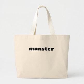 Camiseta barata y genérica del MONSTRUO Bolsas De Mano