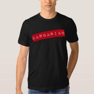 (Camiseta bárbara de la disciplina de las Remera