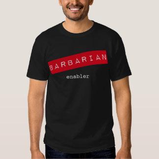 Camiseta bárbara del Enabler Camisas