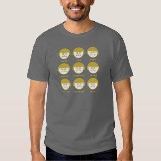 Camiseta básica 2 de la impresión de Botox Ocra Camisas