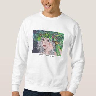 Camiseta básica agujereada sudaderas encapuchadas