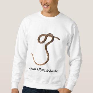 Camiseta básica alineada de la serpiente olímpica jersey