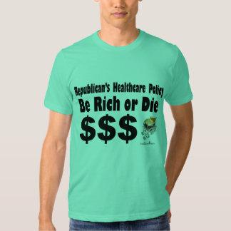 Camiseta básica de American Apparel de los hombres Poleras