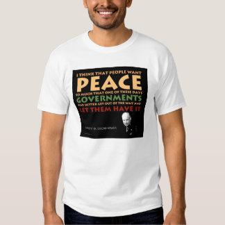 Camiseta básica de Eisenhower Playera