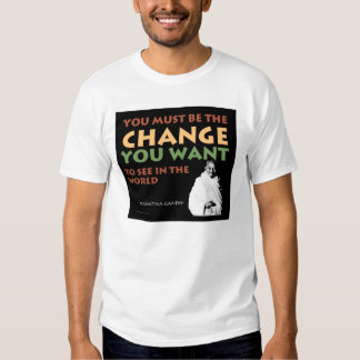 Camiseta básica de Gandhi Polera