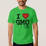 Camiseta básica de I <3 GMO MAMyths Playeras