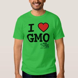 Camiseta básica de I <3 GMO MAMyths Polera