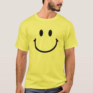 Camiseta básica de la cara feliz