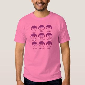 Camiseta básica de la impresión púrpura de Botox Playeras