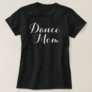 Camiseta básica de la mamá de la danza remera