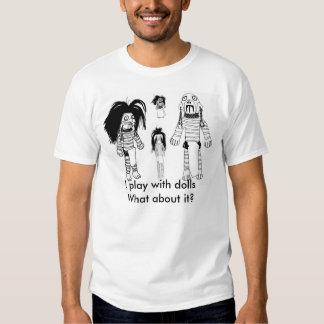 Camiseta básica de la muñeca del vudú de los playeras