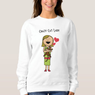 """Camiseta básica """"de la señora loca"""" mujeres del polera"""