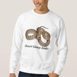 Camiseta básica de la serpiente brillante del jersey