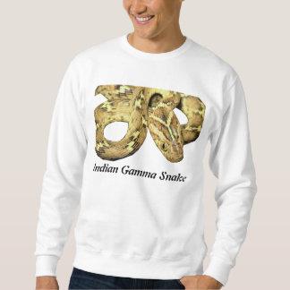 Camiseta básica de la serpiente gamma india suéter