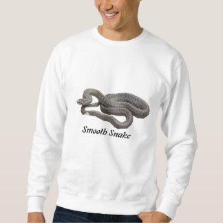 Camiseta básica de la serpiente lisa sudadera con capucha